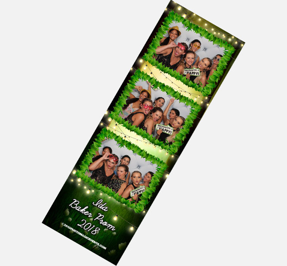 Custom Photo Strip of Arcade Photo Booth Rentals | Photo Magic Events