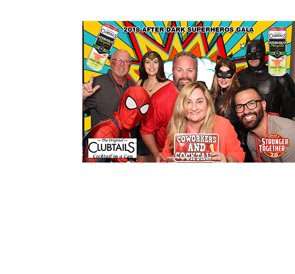 Custom Green Screen Background and Branding for Corporate Events | Photo Magic Events, A SWFL Photo Booth & Event Rental Company
