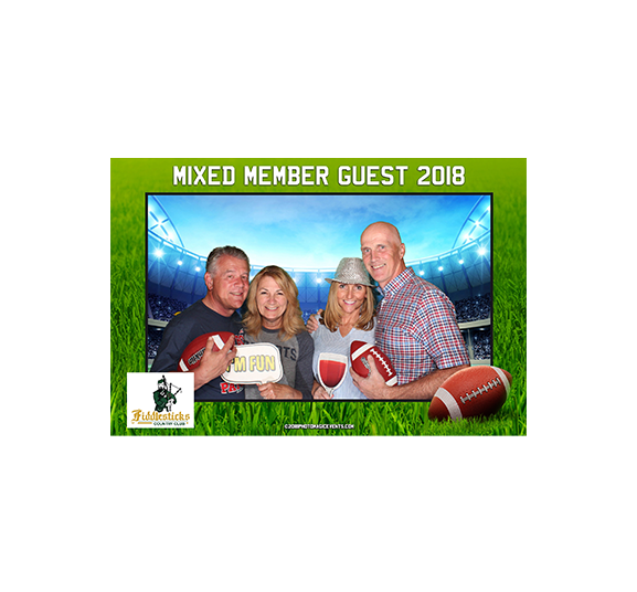 Photo Booth Activities at Golf & Country Club Events | Photo Magic Events