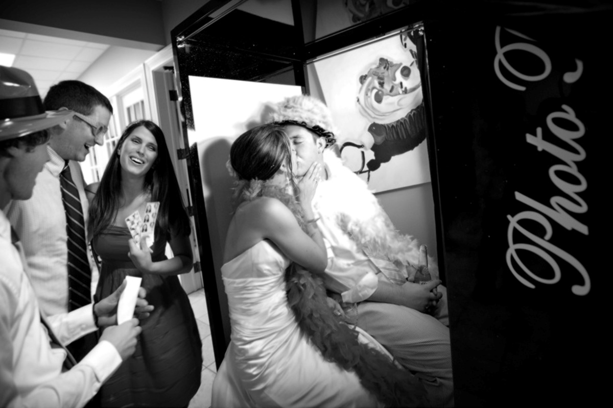 Arcade Photo Booth for Bridal Blast at Germain Arena | Photo Magic Events