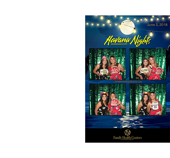 Custom Photo Frame with Luxury Backdrop for Private Event | Photo Magic Events