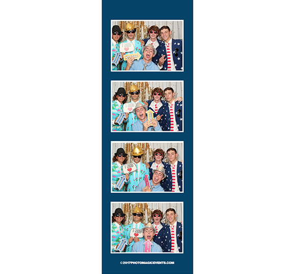 Printed Photo Strips for School Event Photo Booth Rentals | Photo Magic Events