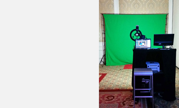Slow-Motion & Video Booth Setup for Green Screen | Photo Magic Events, A SWFL Photo Booth & Event Rental Company